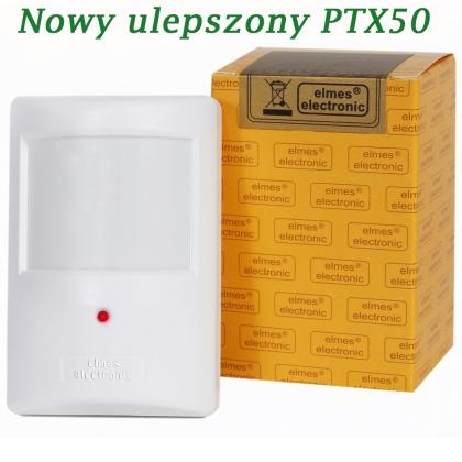 PTX50 - bezprzewodowy detektor ruchu