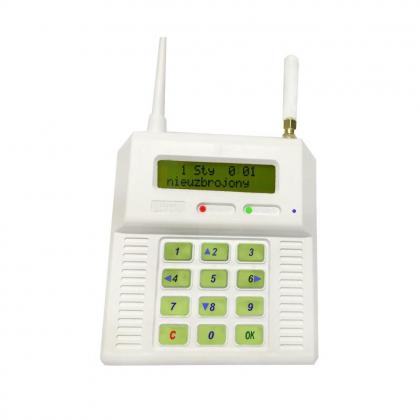 CB32GS - centrala alarmowa z możliwością podpięcia zew. anteny GSM.