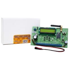 CBP32 - przewodowo - bezprzewodowa centrala alarmowa.