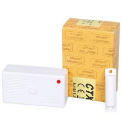 CTX3H - Bezprzewodowy, magnetyczny,  miniaturowy, kontaktronowy detektor otwarci i zamknięcia
