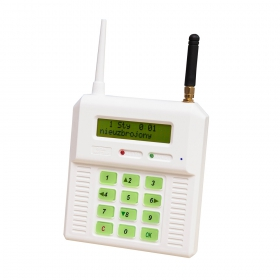 CB32GS - alarm control panel with external plug for GSM antenna