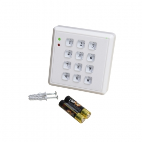 Wireless keypad Elmes KB1 (sold without batteries)