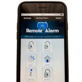 iOS - Remote Alarm Pro