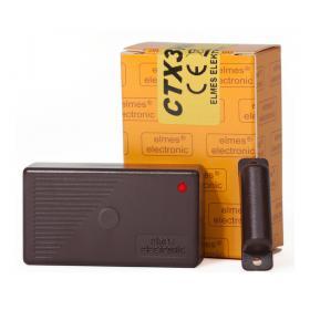 CTX3H - Bezprzewodowy, magnetyczny,  miniaturowy kontaktronowy detektor otwarci i zamknięcia (BRĄZOWY)