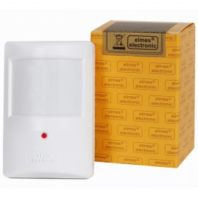 Wireless passive infrared motion detector